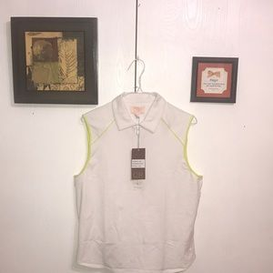 Claudia Romana Women's Golf Shirt XLarge White